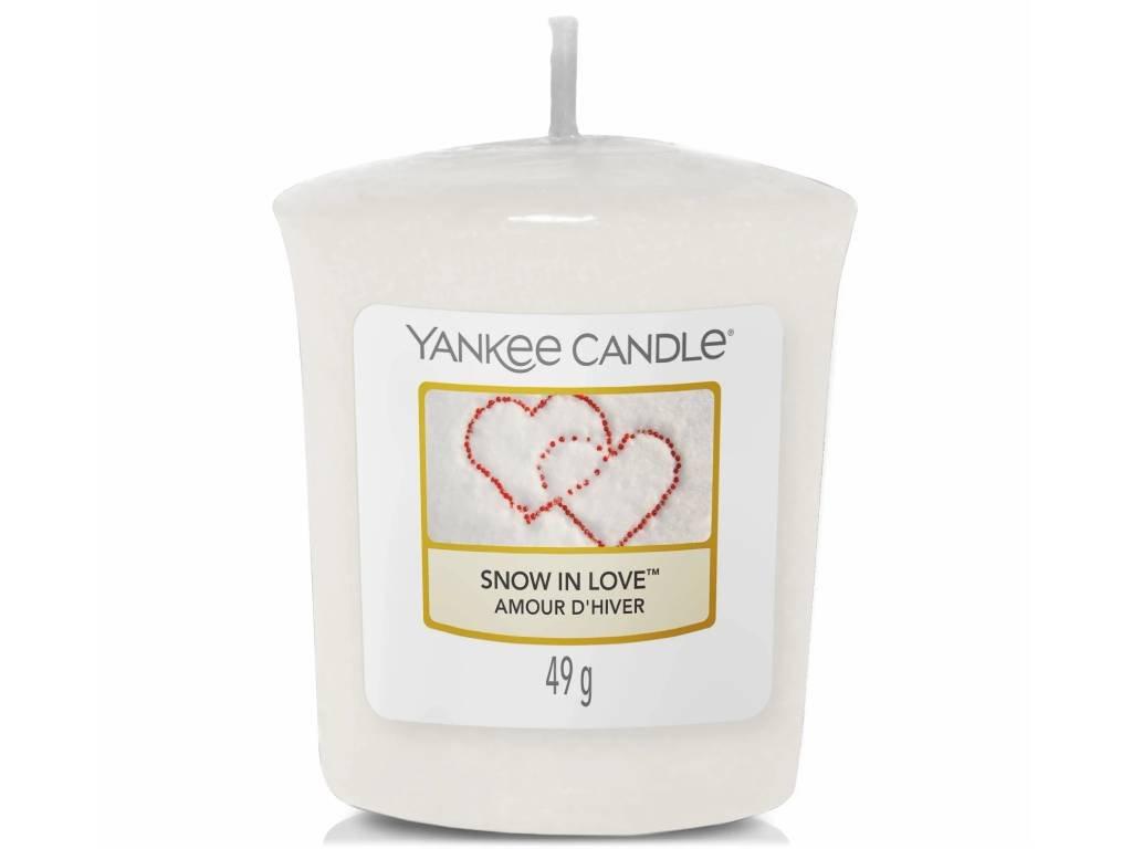 6680 yankee candle votivni svicka snow in love