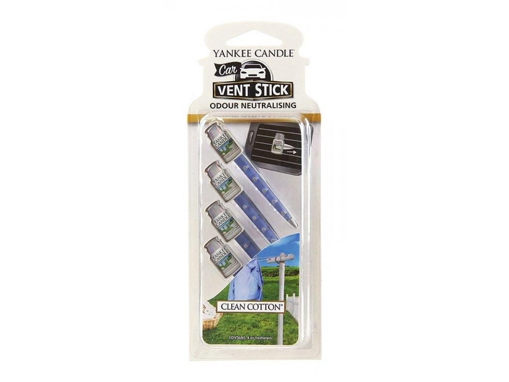 6842 yankee candle vonne kolicky clean cotton 4 ks