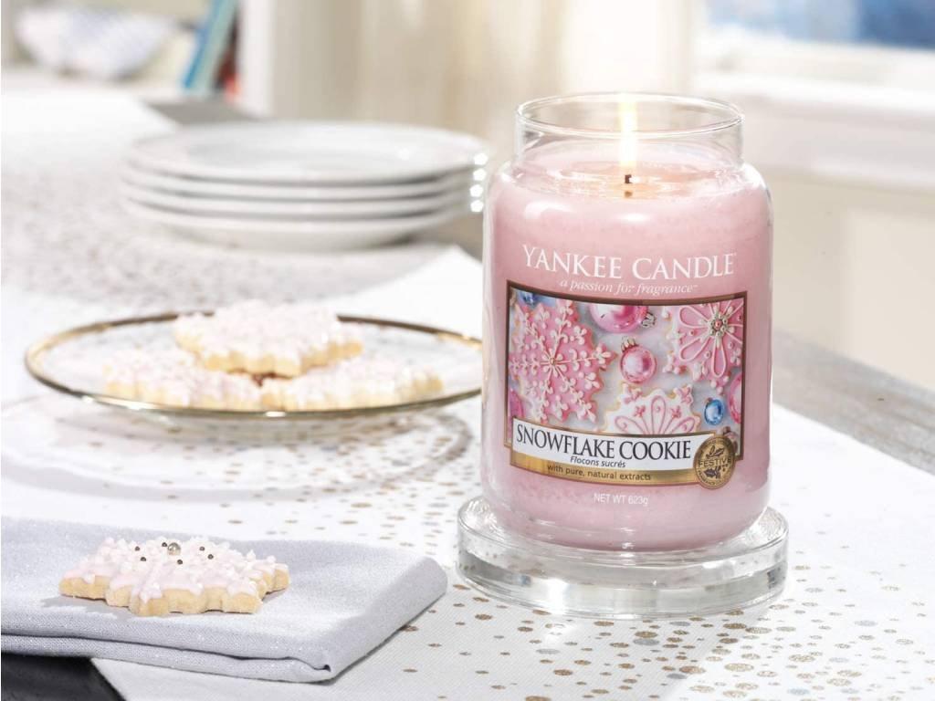 6902 yankee candle votivni svicka snowflake cookie