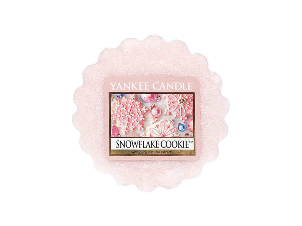 6914 yankee candle vonny vosk snowflake cookie