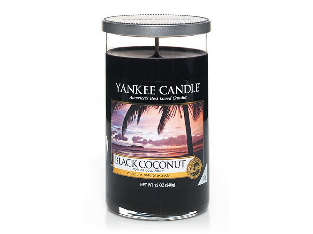 7145 yankee candle decor vonna svicka black coconut stredni