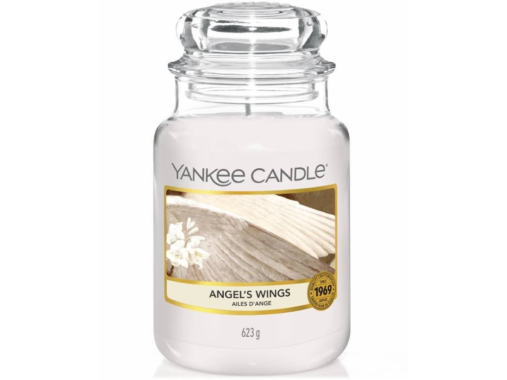 yankee candle angel wings velka