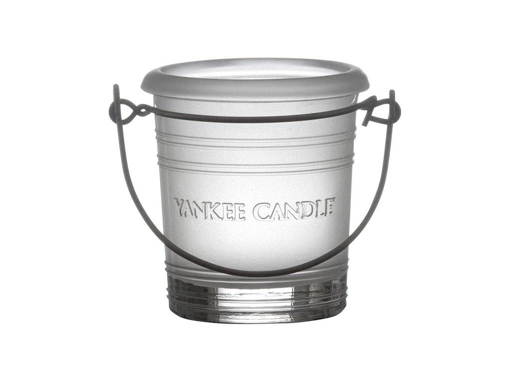 7271 yankee candle glass bucket svicen na votivni svicku matny