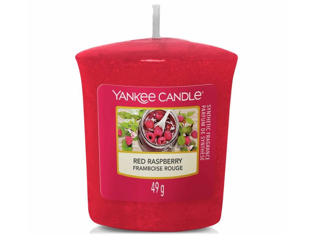 yankee candle red raspberry votivni