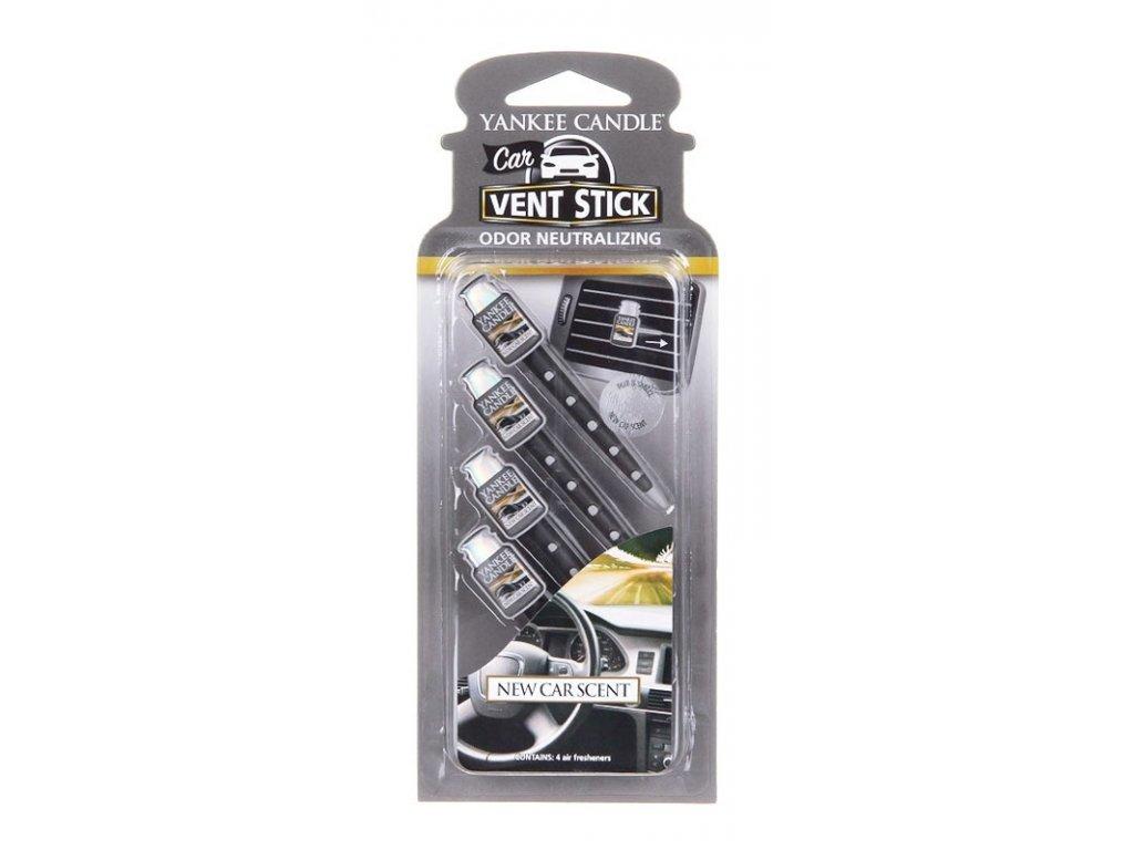 7613 yankee candle vonne kolicky new car scent 4 ks