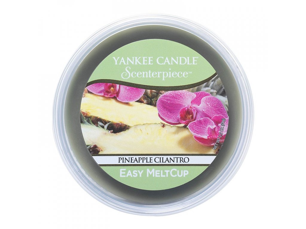 7673 yankee candle vosk pineapple cilantro easy meltcup