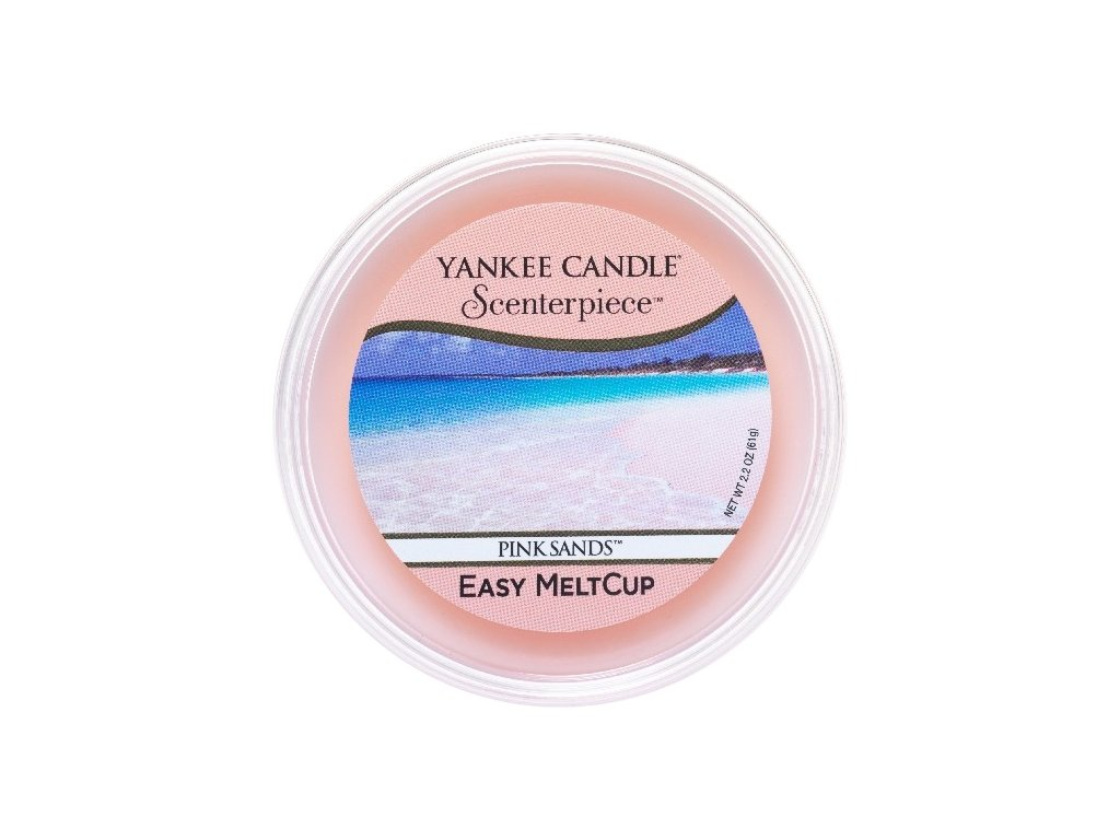 7676 yankee candle vosk pink sands easy meltcup