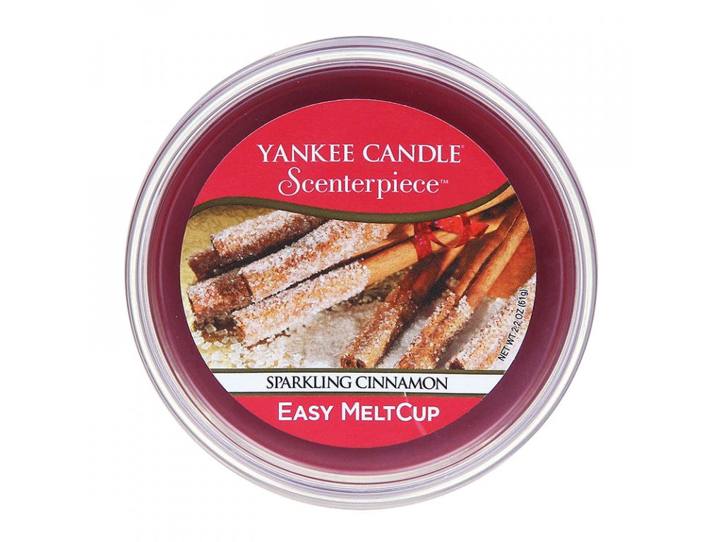 7685 yankee candle vosk sparkling cinnamon easy meltcup