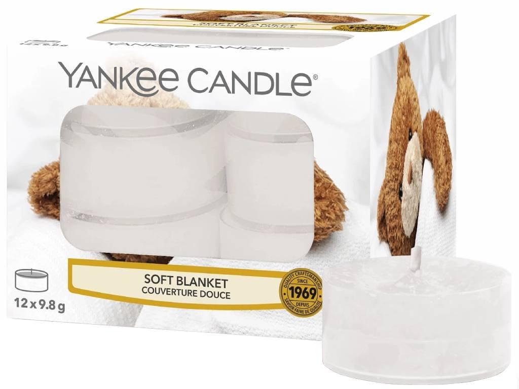 yankee candle soft blanket cajovka