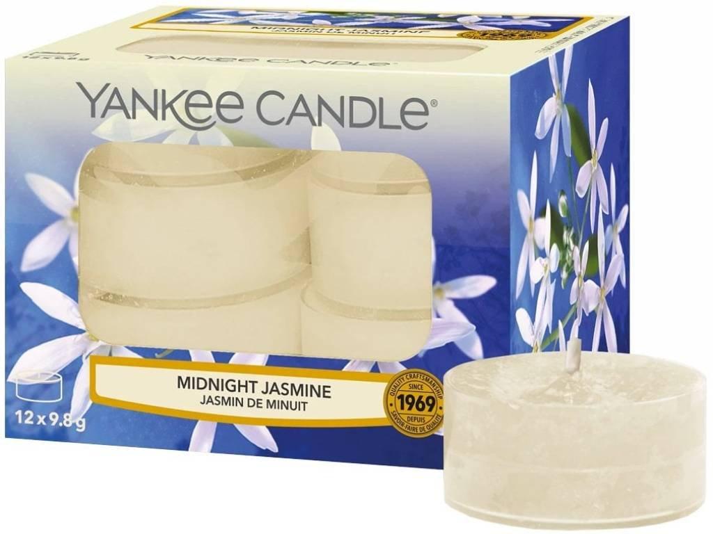 7769 yankee candle cajove svicky midnight jasmine 12 ks