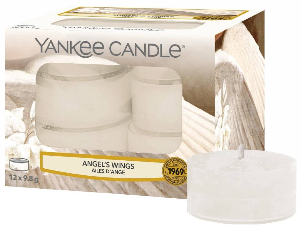 yankee candle angels wings cajovka