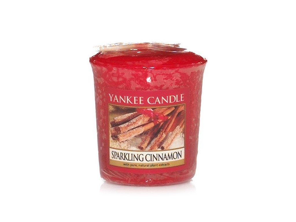 7895 yankee candle votivni svicka sparkling cinnamon