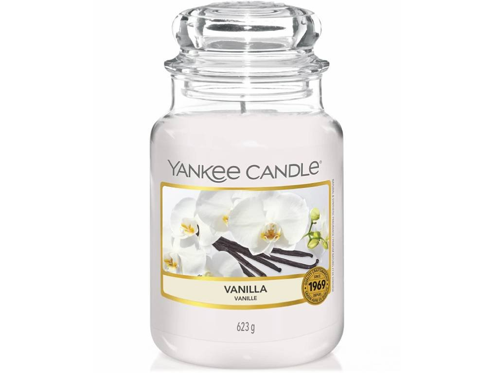 yankee candle vanilla velka