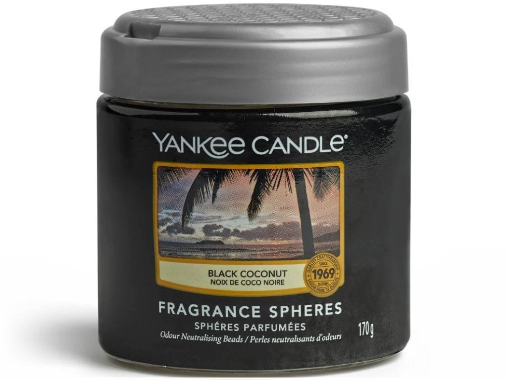 8369 yankee candle spheres vonne perly black coconut
