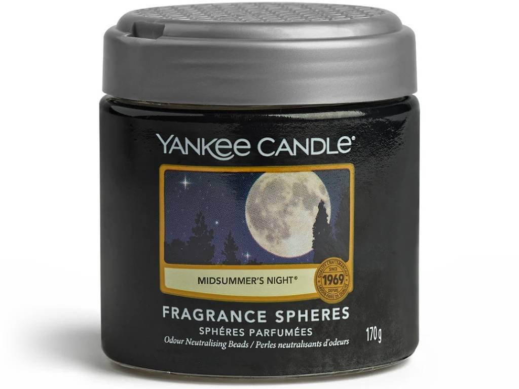 8381 yankee candle spheres vonne perly midsummers night