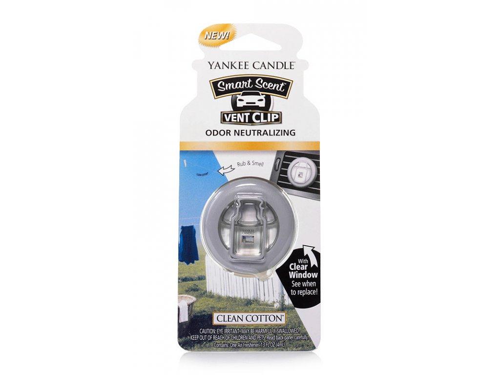 8405 yankee candle vonny klip do ventilace clean cotton