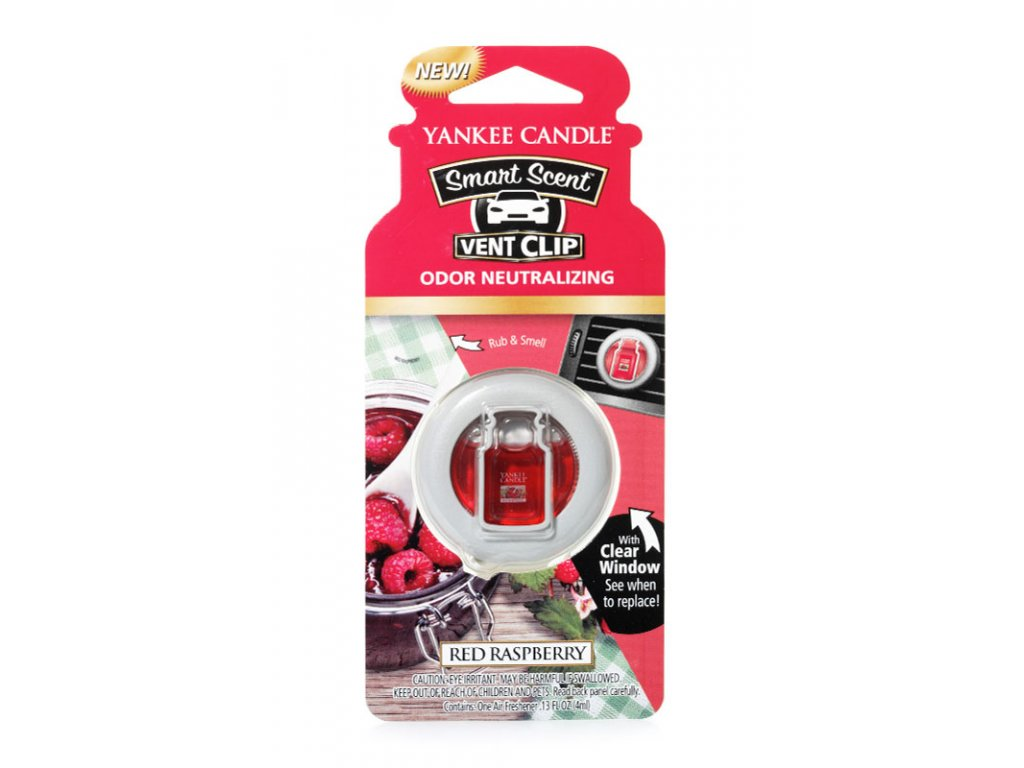 8420 yankee candle vonny klip do ventilace red raspberry