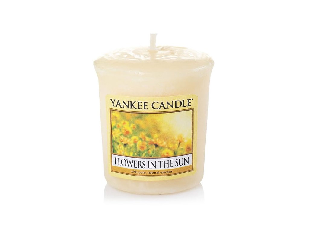 8483 yankee candle votivni svicka flowers in the sun