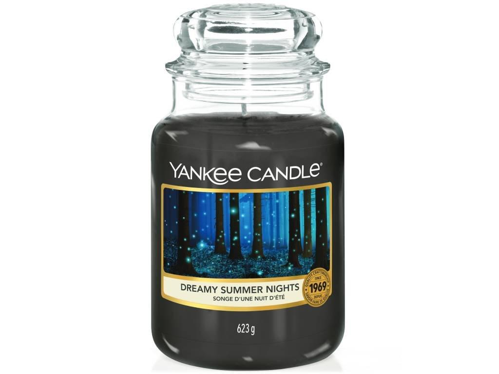 yankee candle dreamy summer nights velka