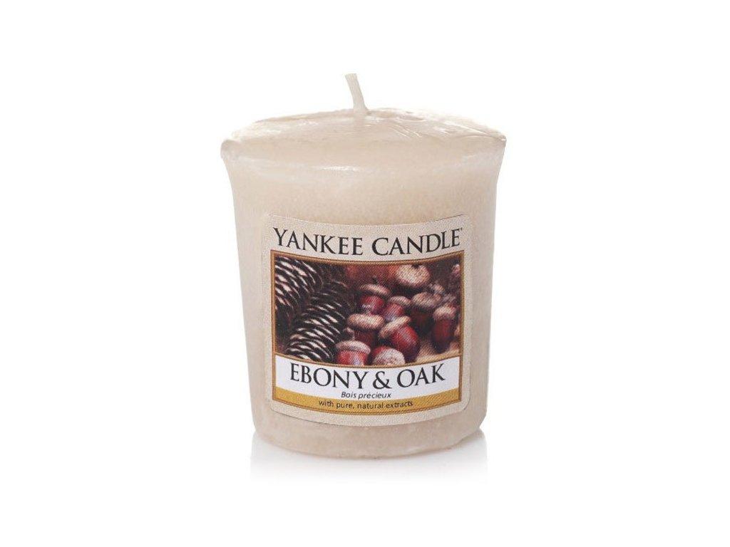 8534 yankee candle votivni svicka ebony oak