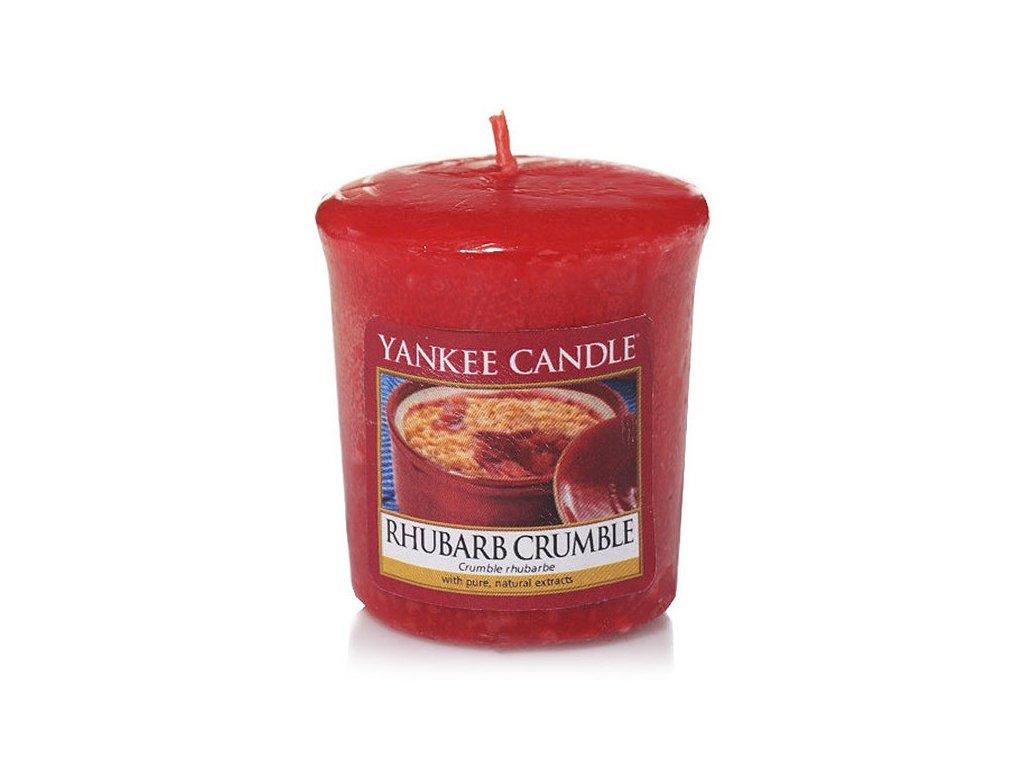 8561 yankee candle votivni svicka rhubarb crumble