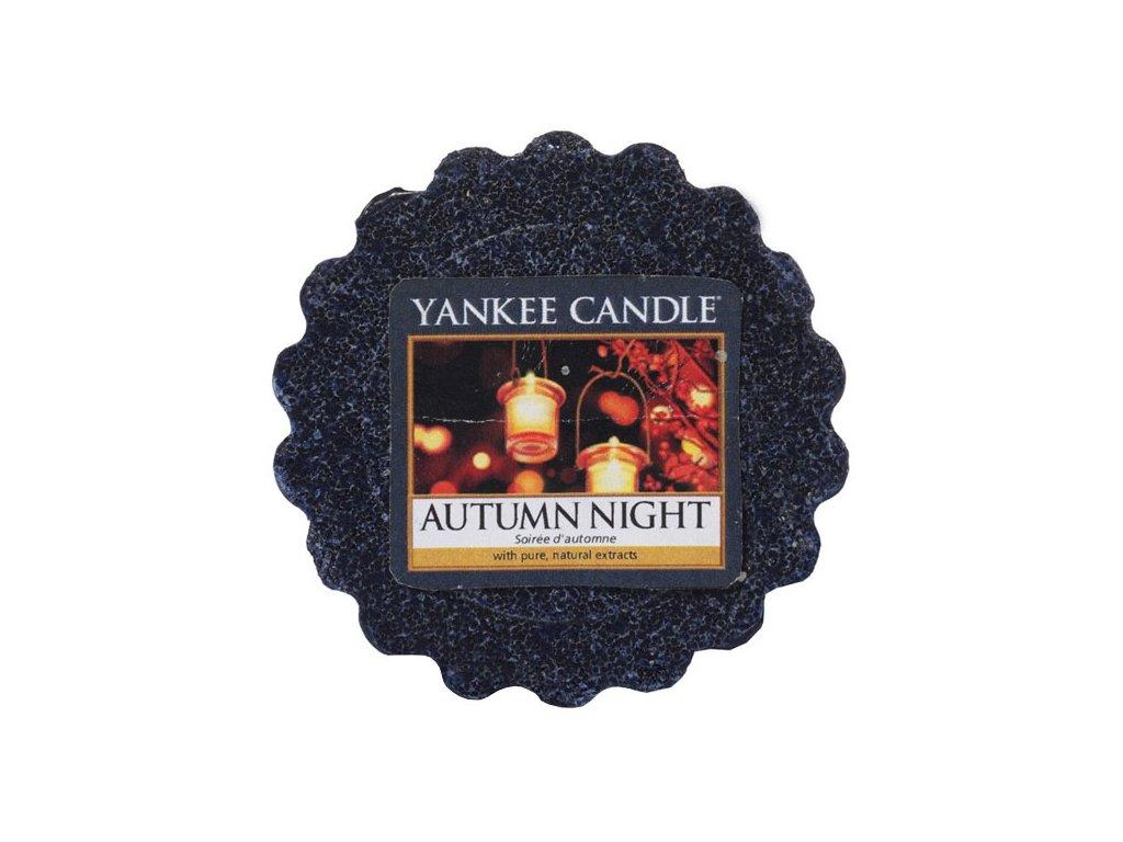 8582 yankee candle vonny vosk autumn night