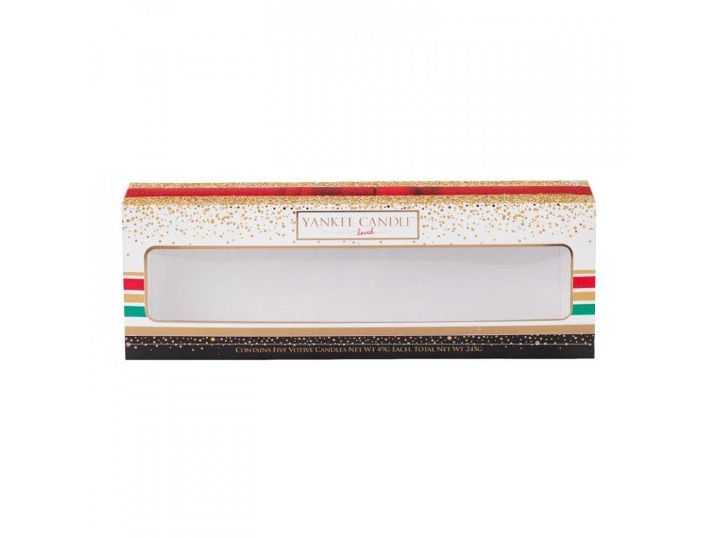 8657 yankee candle darkova krabicka na 5 ks votivnich svicek