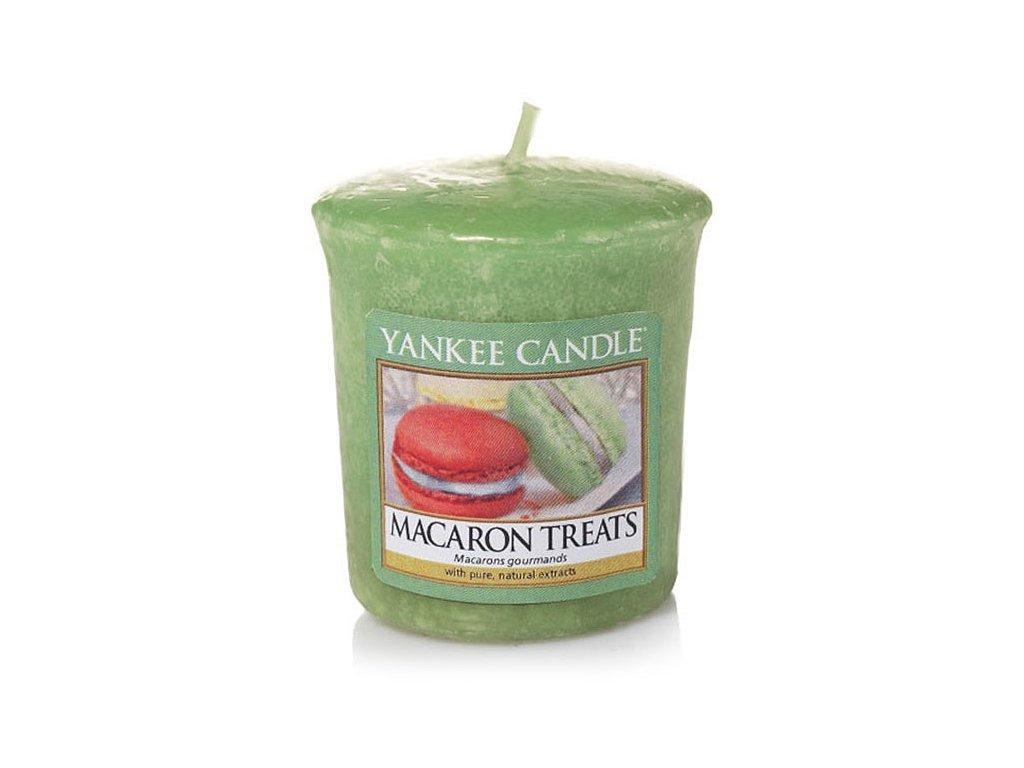 8741 yankee candle votivni svicka macaron treats