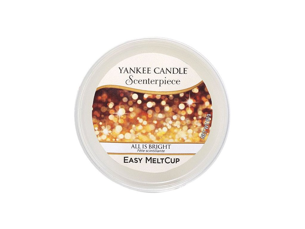 8771 yankee candle vosk all is bright easy meltcup