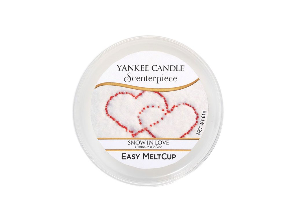 8777 yankee candle vosk snow in love easy meltcup