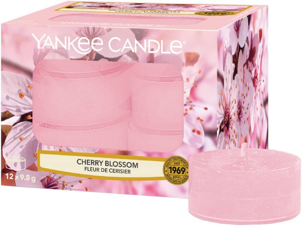 yankee candle cherry blossom cajovka