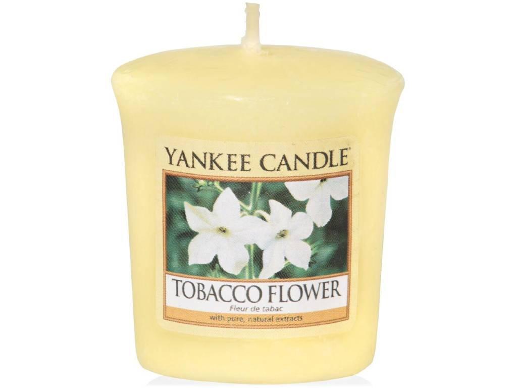 yankee candle tobacco flower votivni
