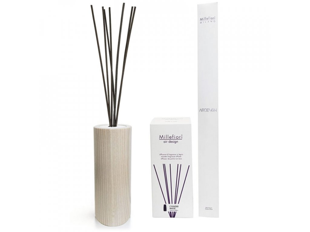 9395 1 millefiori milano air design aroma difuzer bez naplne cylinder prirodni 250 ml