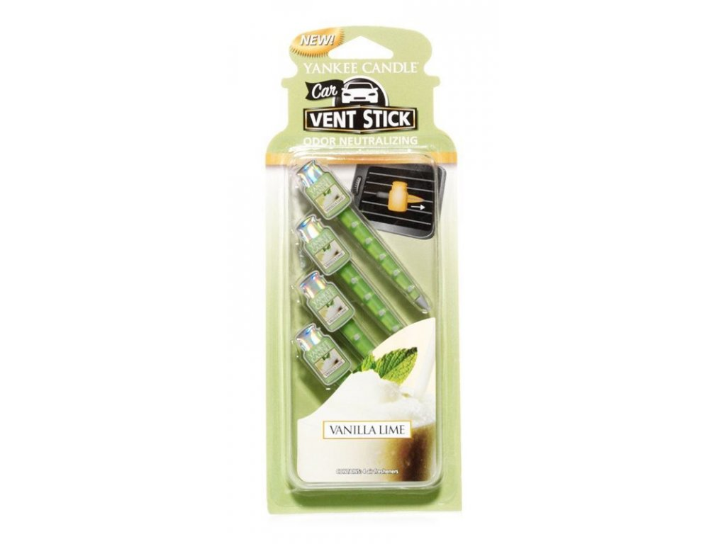 9449 yankee candle vonne kolicky vanilla lime 4 ks