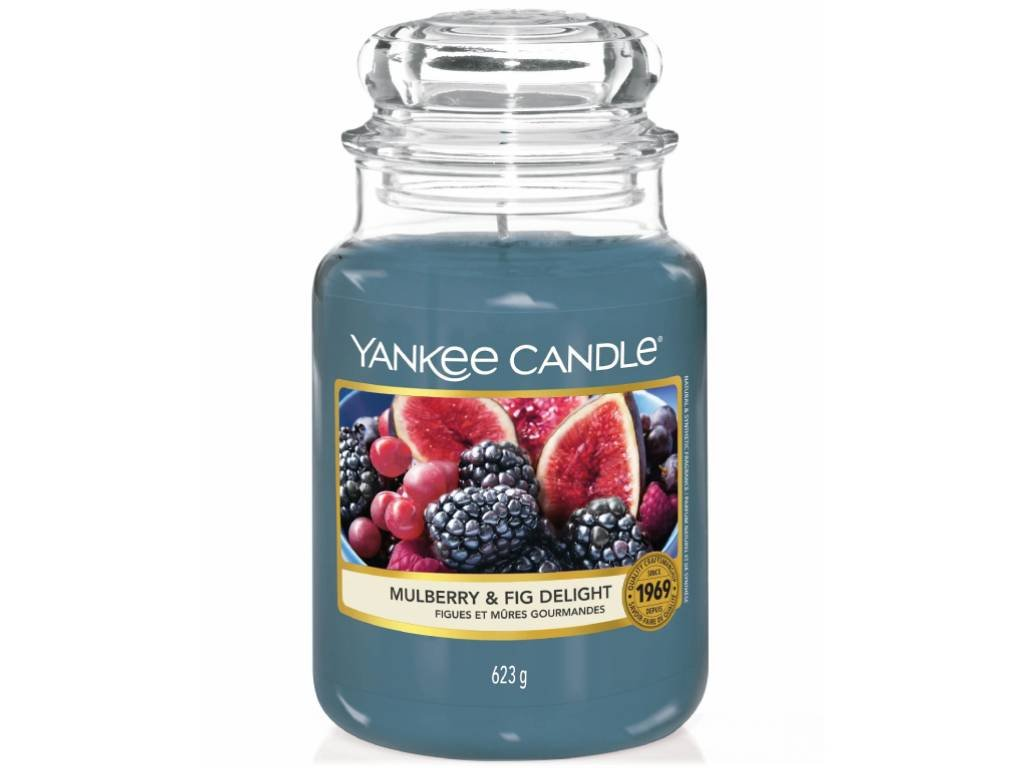 yankee candle mulberry fig delight velka