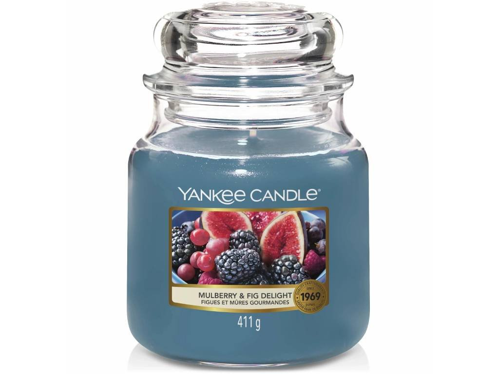 yankee candle mulberry fig delight stredni