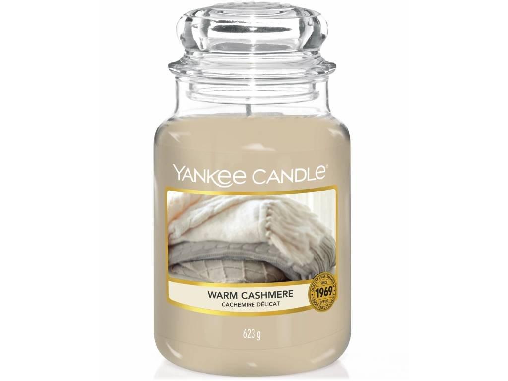 yankee candle warm cashmere velka