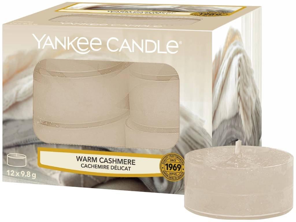 9530 yankee candle cajove svicky warm cashmere 12 ks