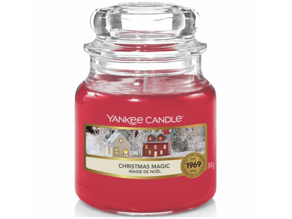 yankee candle christmas magic mala