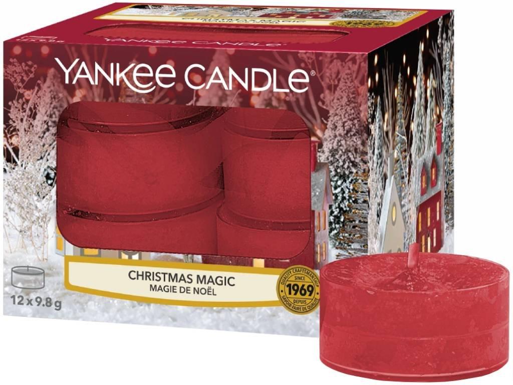 yankee candle christmas magic cajovka