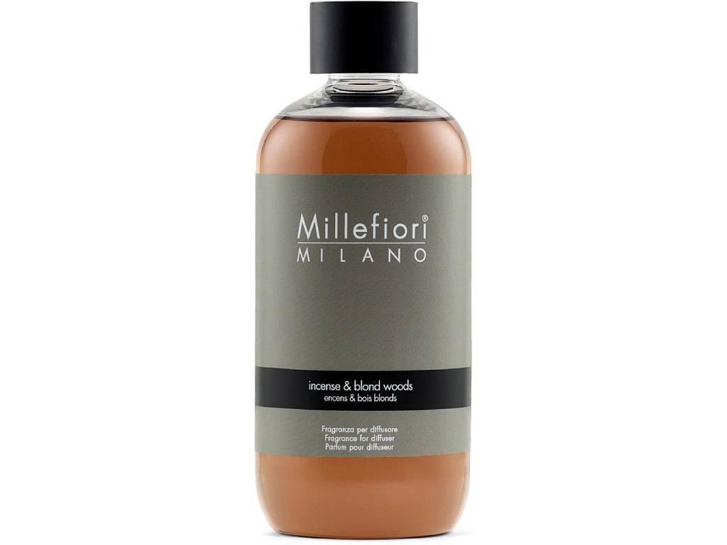 millefiori milano incense blond wood 250ml