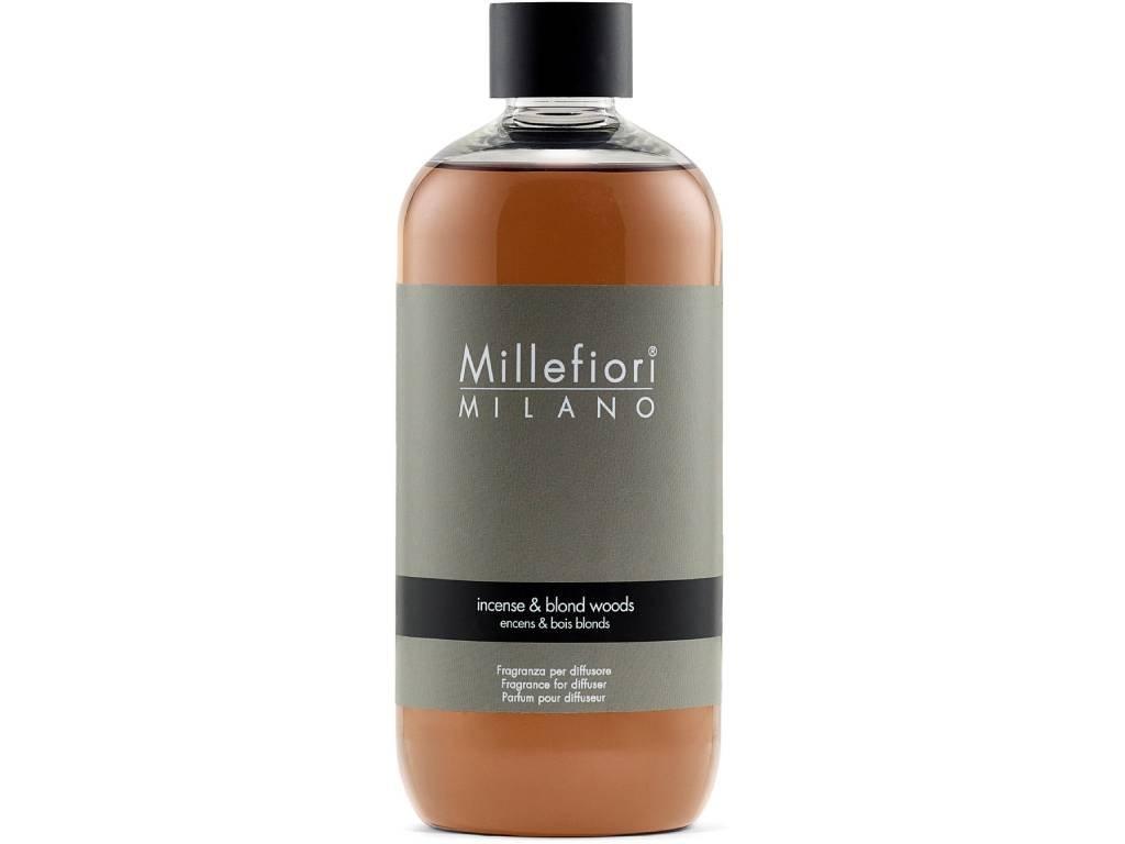 millefiori milano incense blond wood 500ml