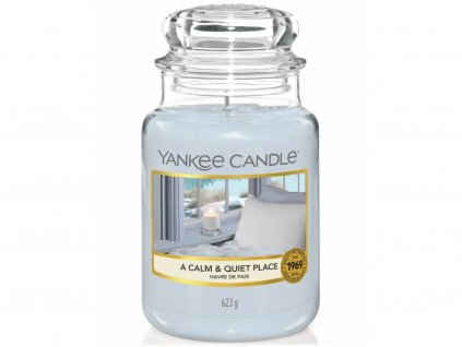 yankee candle calm quiet place velka