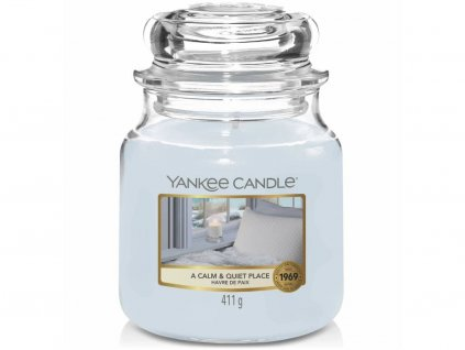 yankee candle a calm quit place stredni
