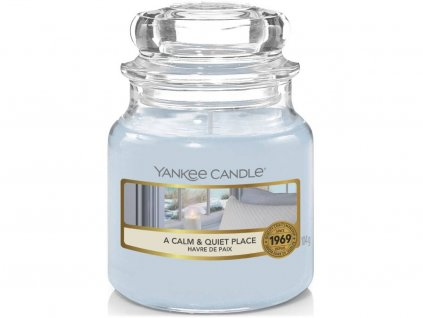 yankee candle a calm quit place mala