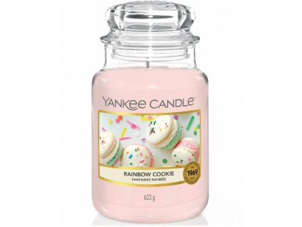 yankee candle rainbow cookie velka