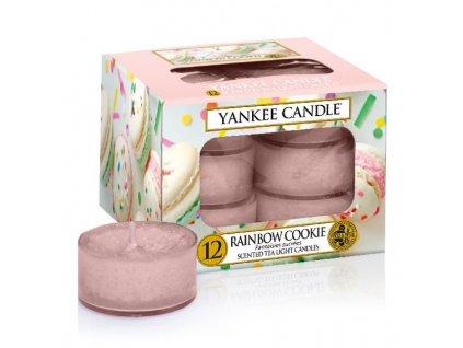 10097 yankee candle cajove svicky rainbow cookie 12 ks