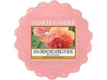 yankee candle sun drenched apricot rose vosk
