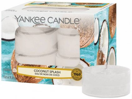 10298 yankee candle cajove svicky coconut splash 12 ks
