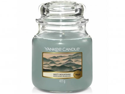 yankee candle misty mountains stredni
